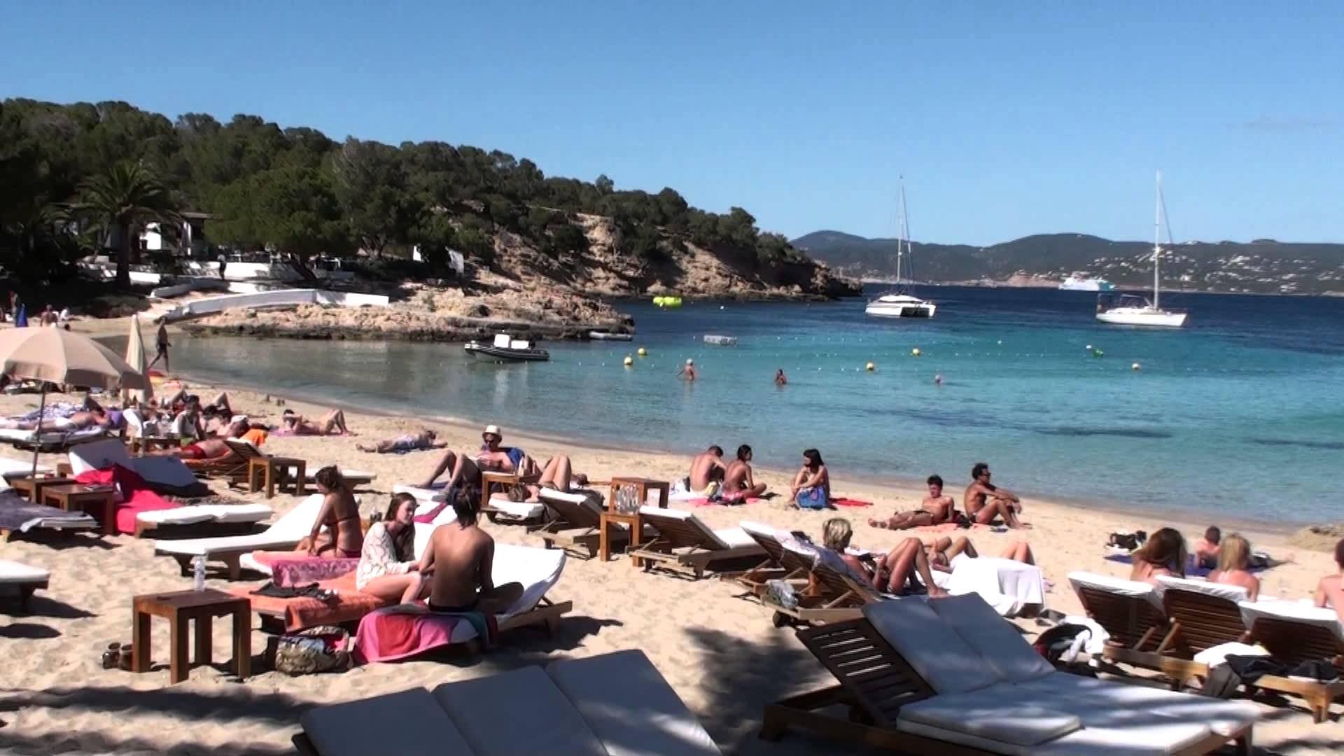 Cala Bassa in Ibiza