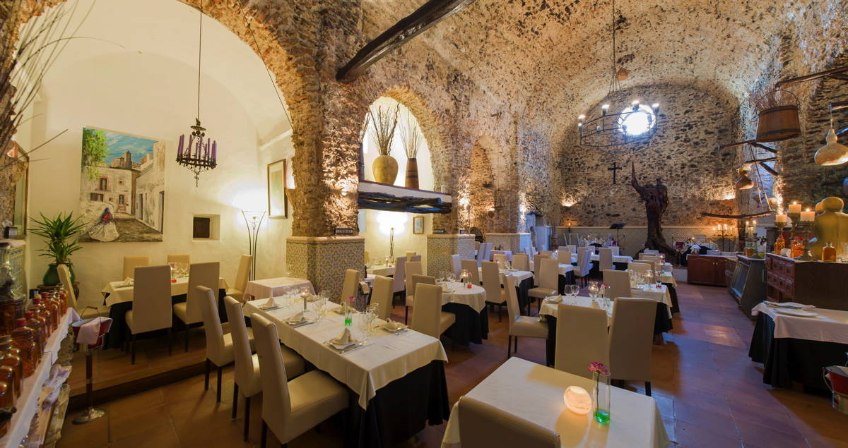 Dine in an old converted church ibiza