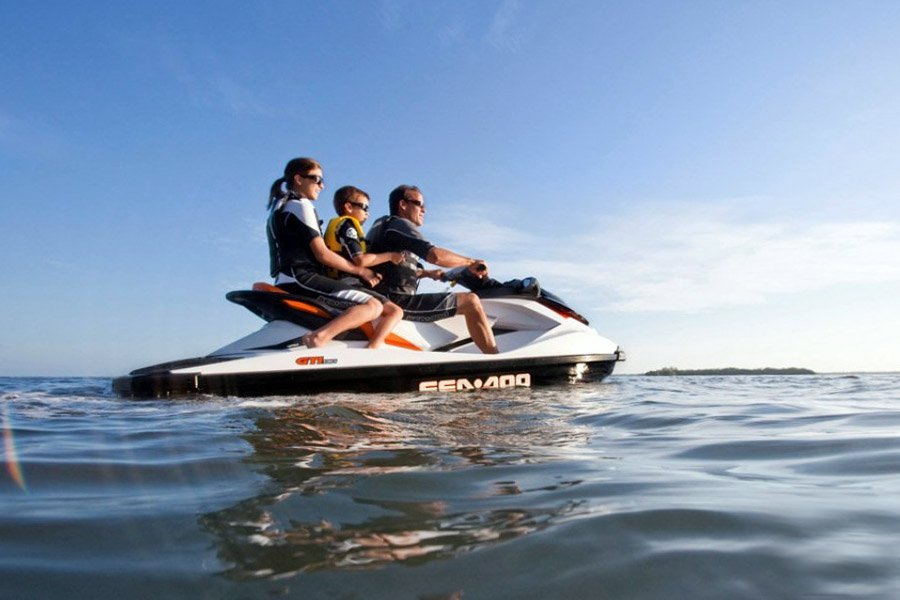 Jet Ski for families in ibiza