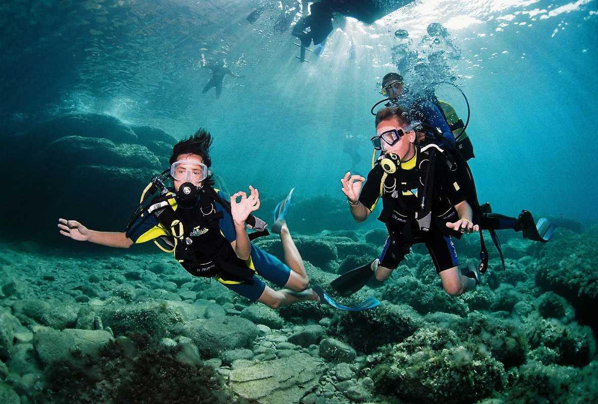 Scuba Diving ibiza where