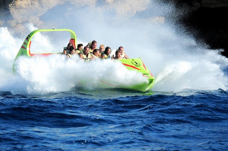Jet Boat fun in ibiza
