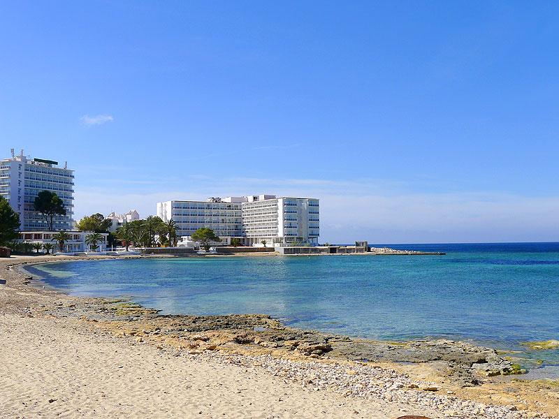 Xinxo beach Ibiza San Antonio