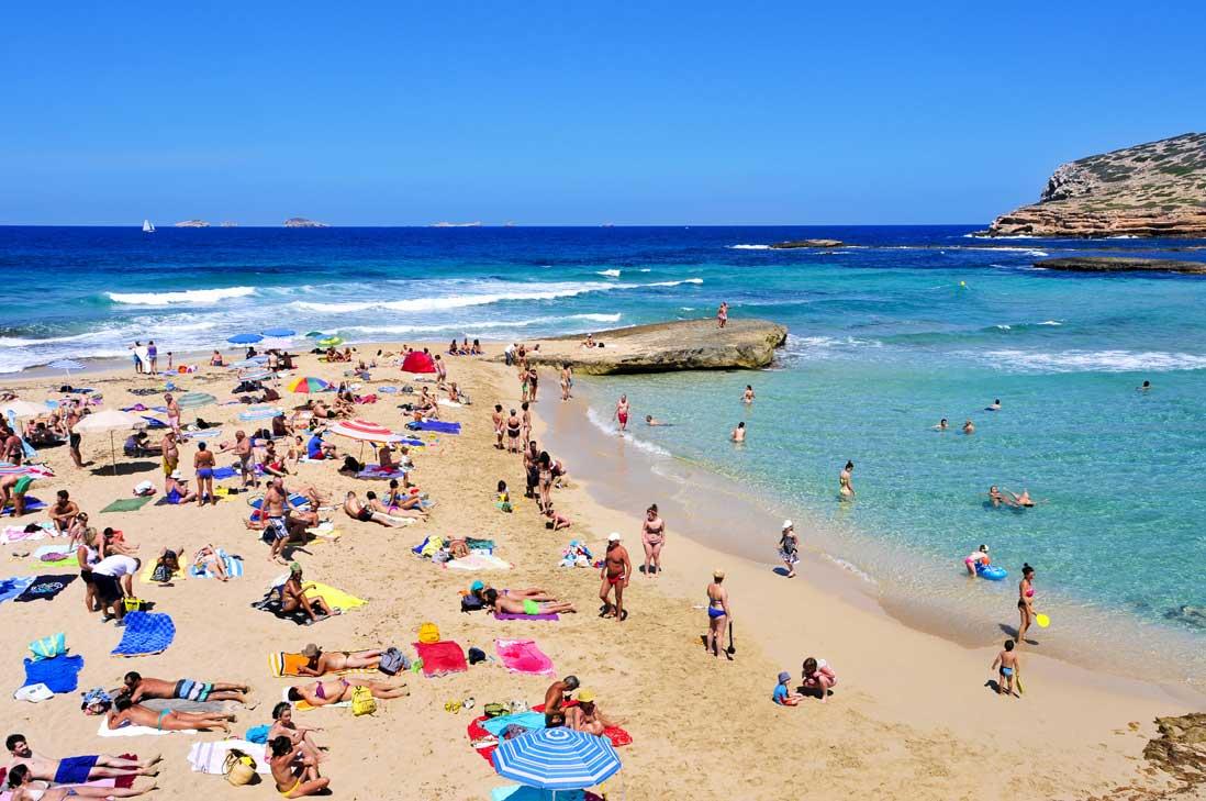 Cala Compe in Sant Josep, Ibiza