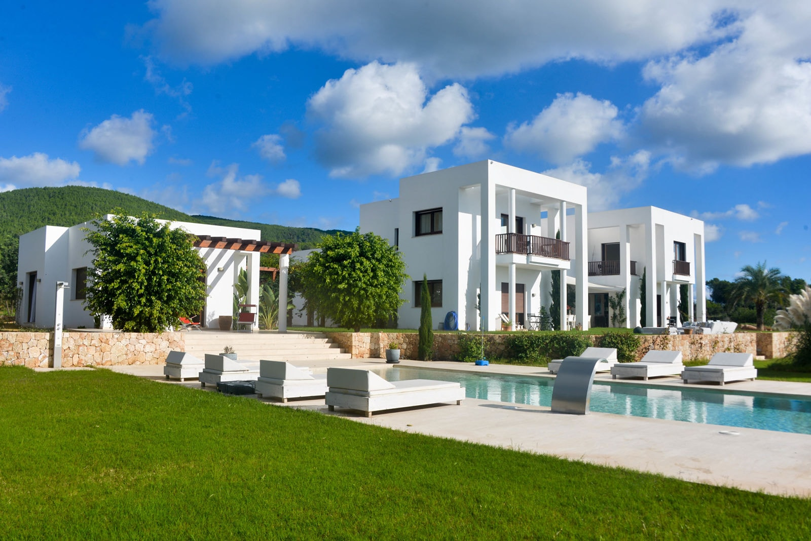 General views luxury villa Ibiza