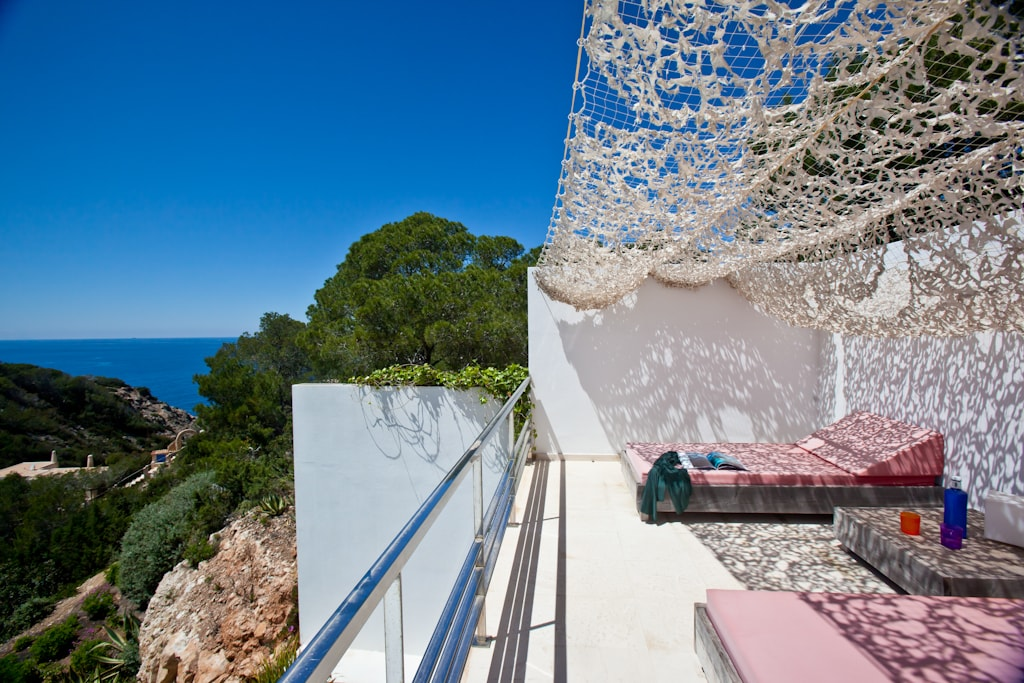 Chill out area luxury villa in Ibiza