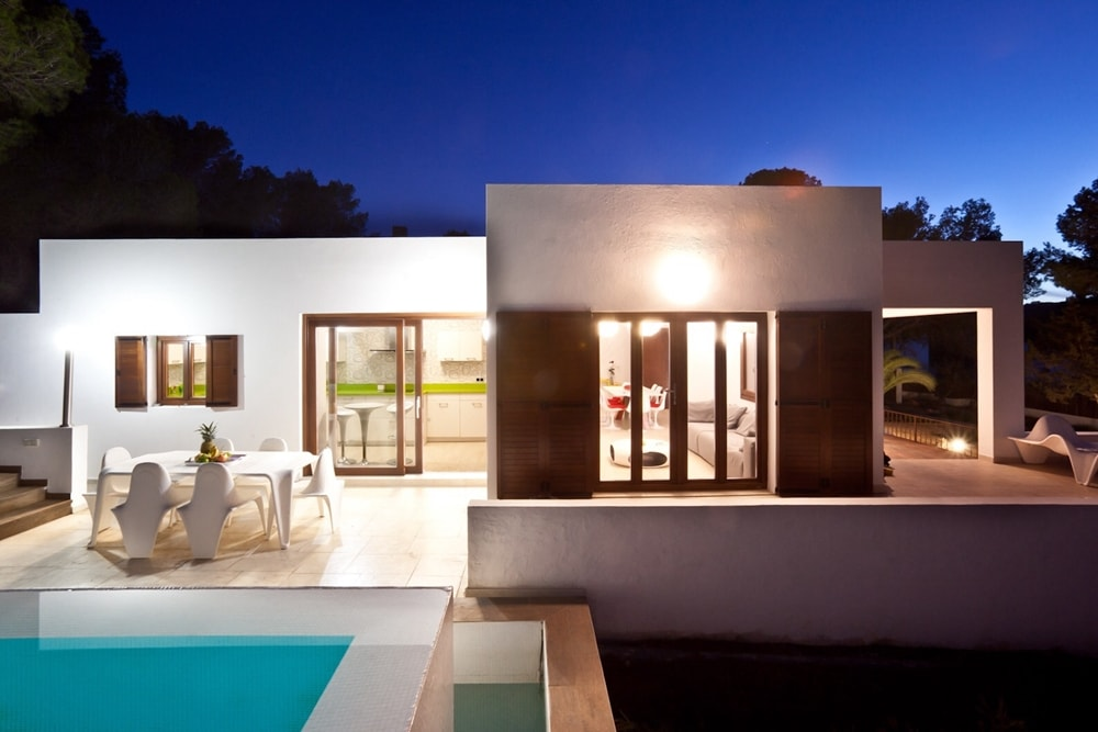 General view rental house in Ibiza