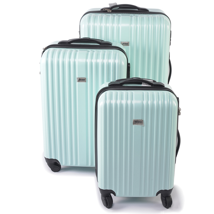 The diferent size of suitcases
