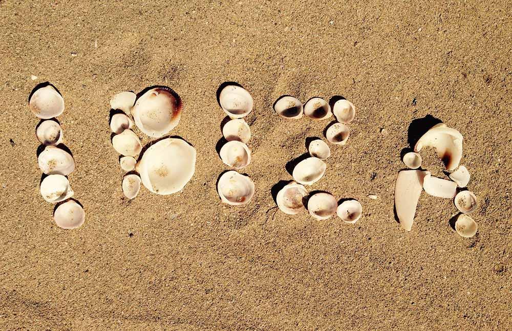 ibiza sand beach