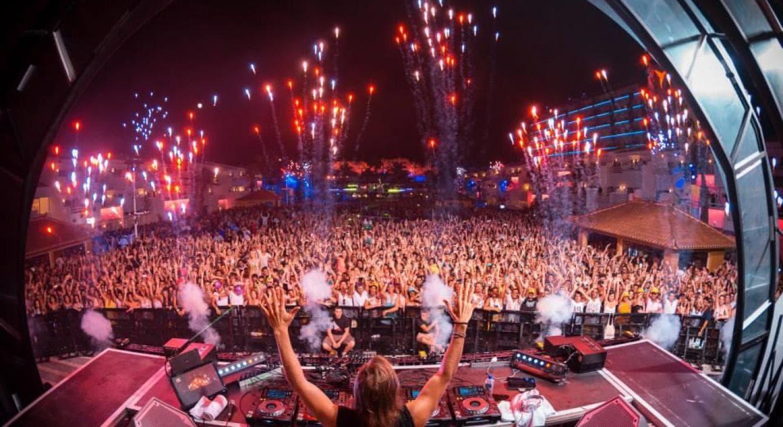 David Guetta in Ibiza
