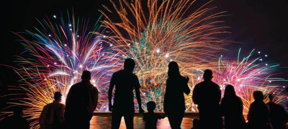 Fireworks - Rent Ibiza Holiday Villas