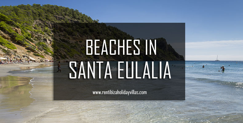 beaches in Santa Eulalia