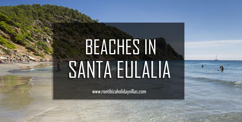 beaches in Santa Eulalia