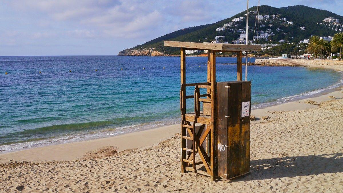 Santa Eulalia beach Ibiza