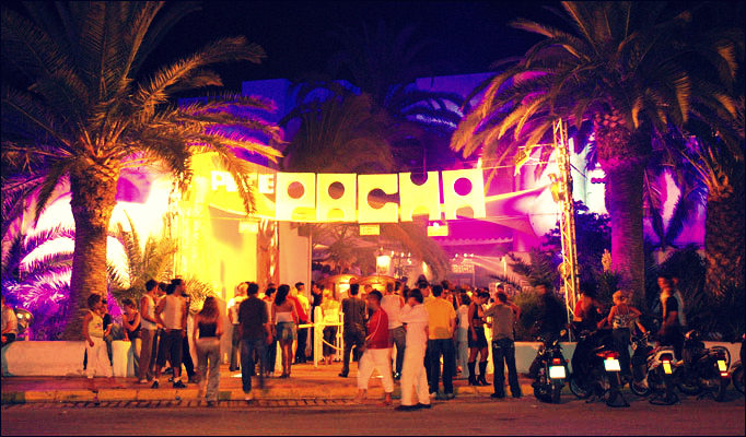 Pacha, the oldest club on Ibiza.