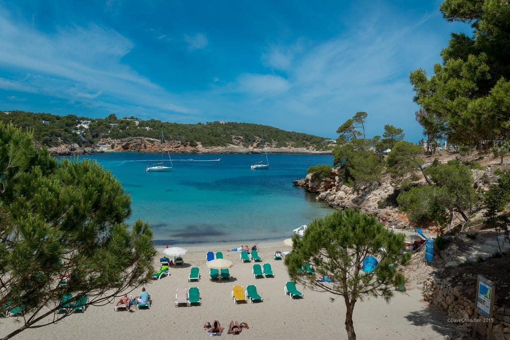 Es puet beach as an activity for one day in Ibiza