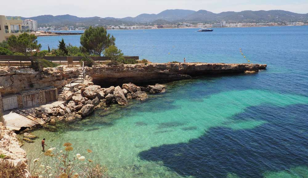 Calo des Moro Beach Activities in Ibiza