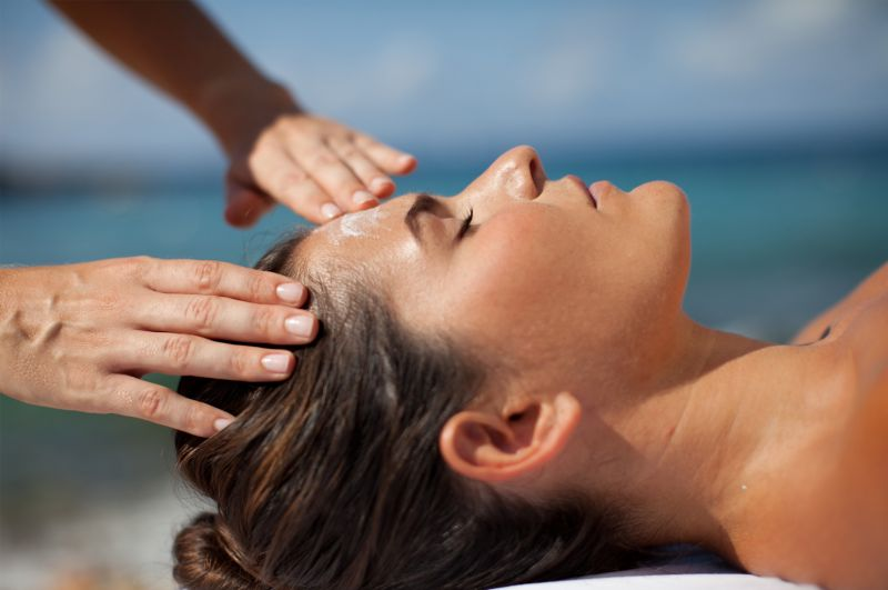 Spa facial treatment in Ibiza