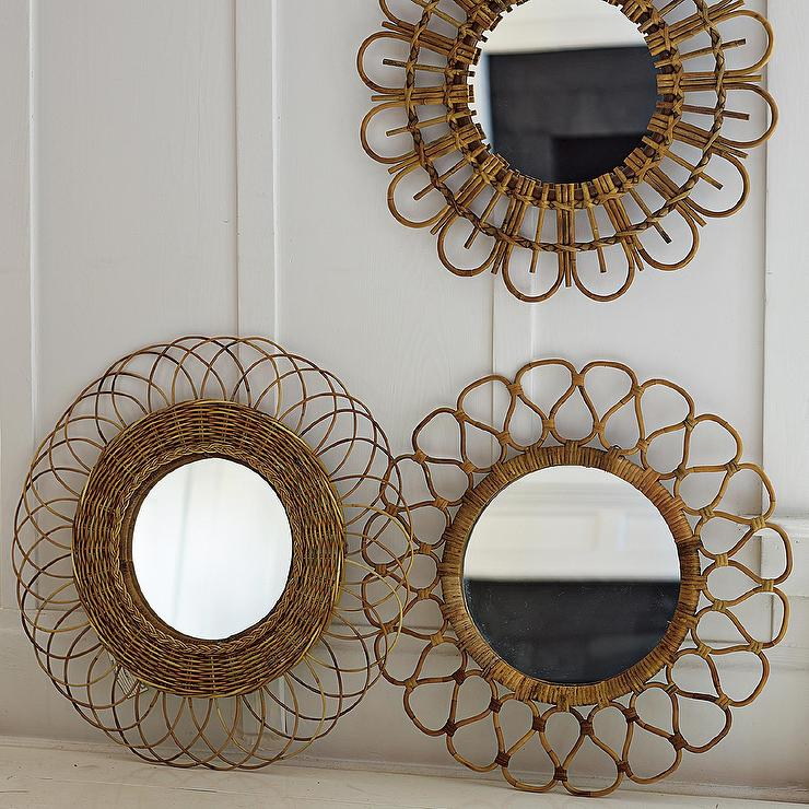 3 Woven mirrors