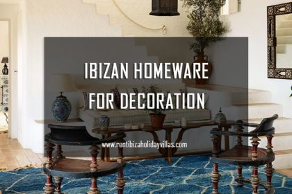 Ibizan homeware for decoration