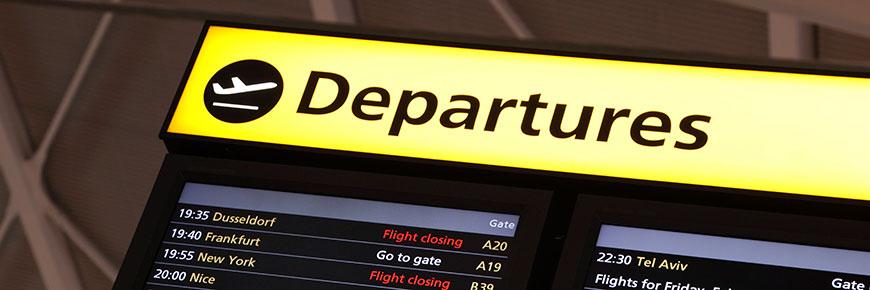 ibiza airport departures area