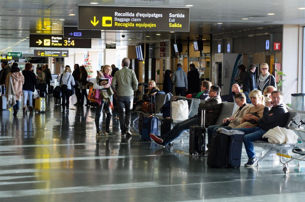 baggage area Ibiza airport