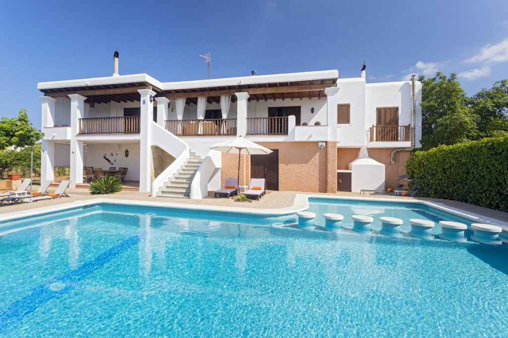 Romantic holiday for couples in love in Ibiza