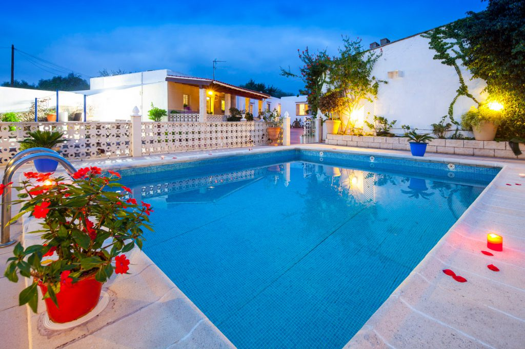 rent large villa in Ibiza