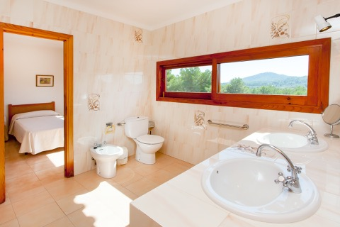 private bathroom rental villa ibiza