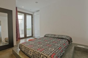 Double bed room in a house of Ibiza