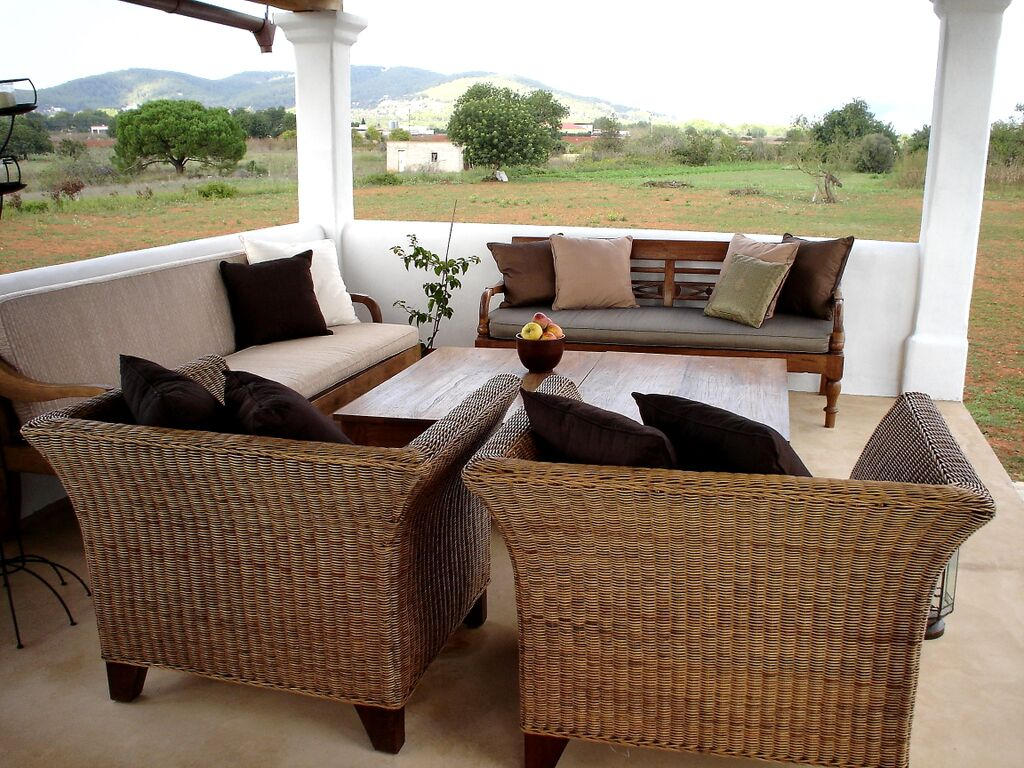 Porch in a house of Ibiza